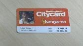 Kangaroo card image for online