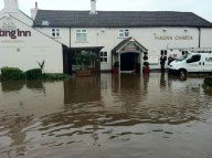The Magna Charta Flooded in 2012