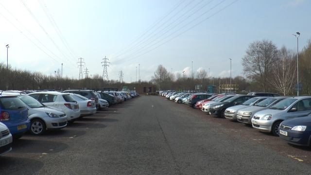 The Queen's Drive Park and Ride is the site of the largest solar panel array, with over 4000 panels being installed.
