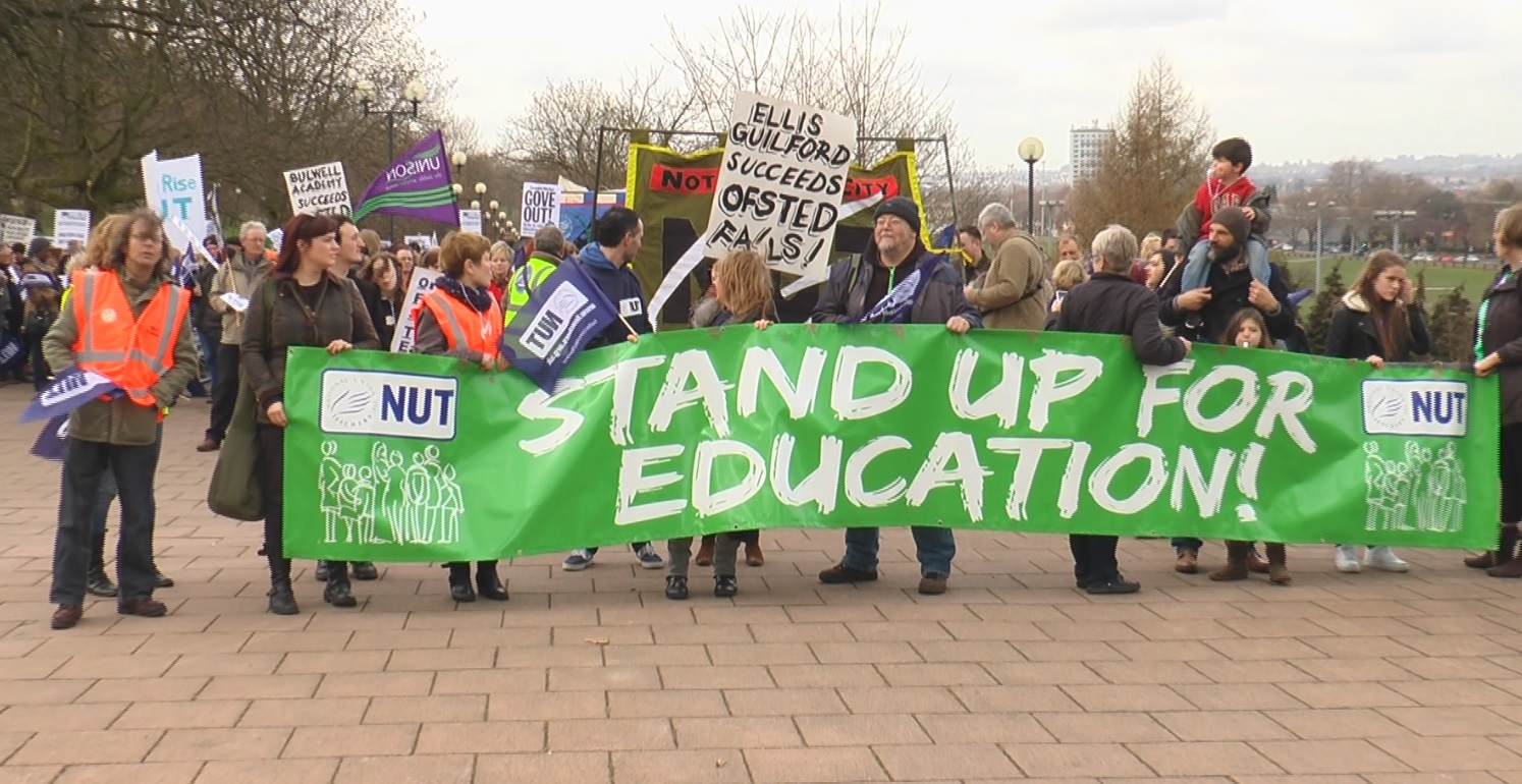 Leader of National Union of Teachers warns of further strike ...