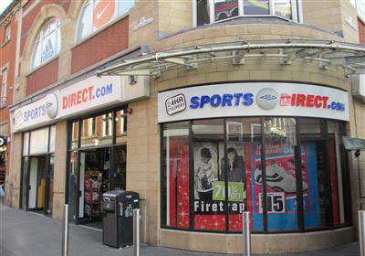 Sport Direct on Clumber Street have refused to comment on their actions