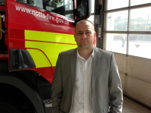Sean Mcallum thinks the cuts will affect the fire service's response times