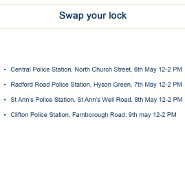 Swap your lock