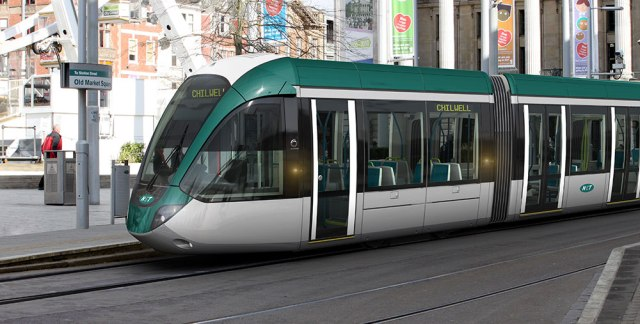 Nottingham City Council is currently building two additional tram lines.