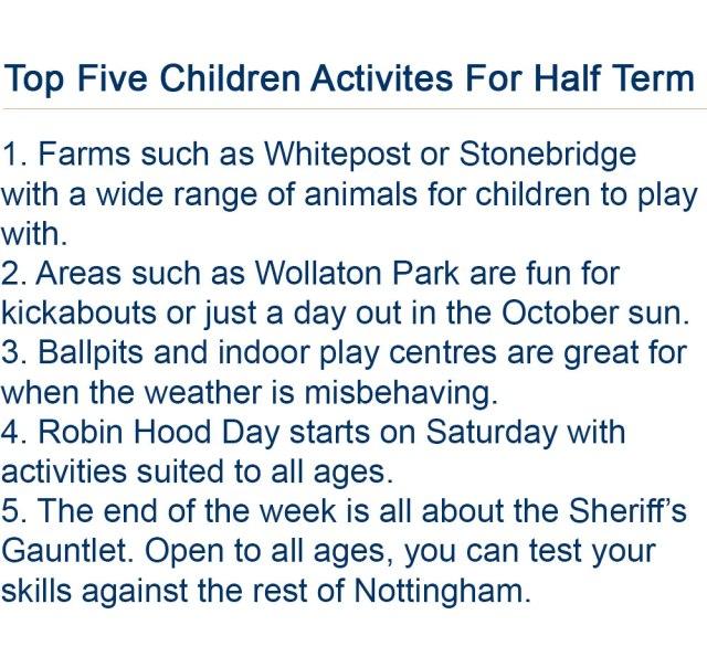 Half-Term-Activities
