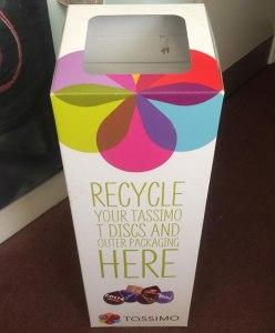 Coffee Recycling Bin