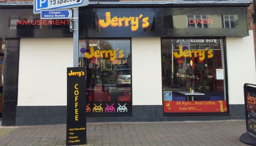 The recently closed cafe, Jerry's At Beeston