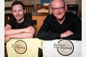 Founders of Beeston Film Festival James Hall and John Currie