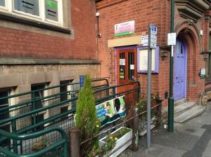 Nottingham Women's Centre on Chaucer Street