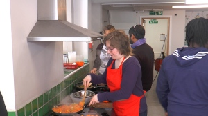 Holistic groups such as cooking provide valuable opportunities for patients